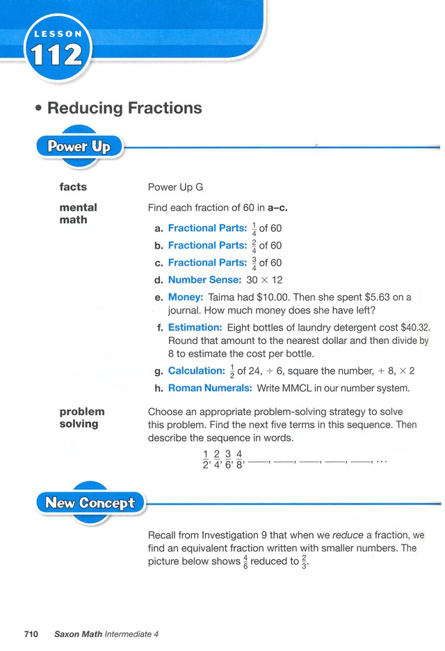 Saxon Math Intermediate 4 Homeschool Kit