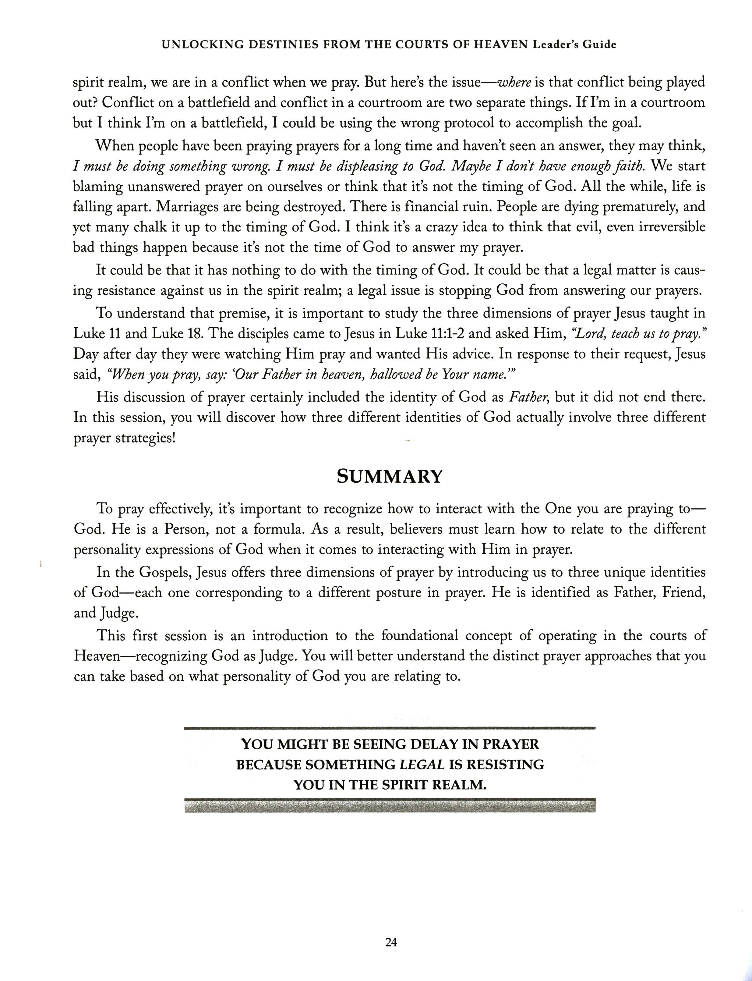 Prayer Against The Spirit Of Delay