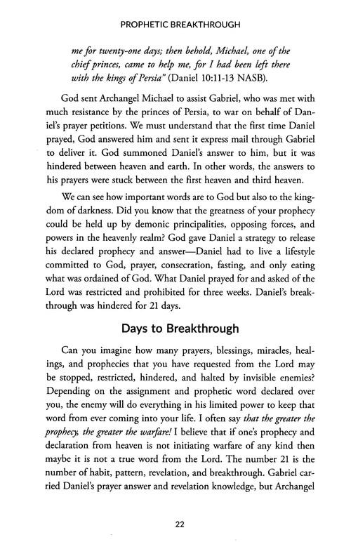 Prophetic Breakthrough: Decrees That Break Curses and Release Blessings
