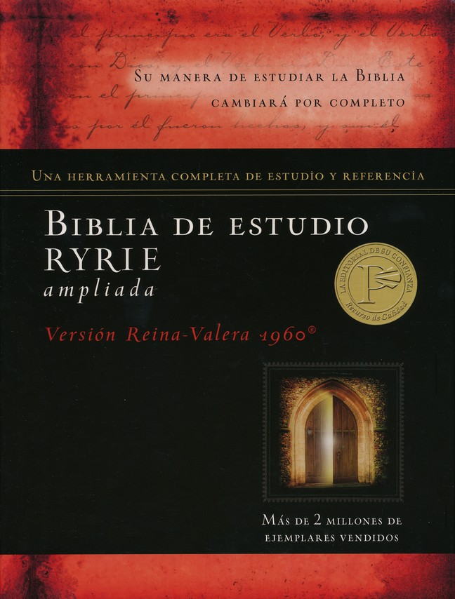 Biblia de estudio Ryrie ampliada, The New Ryrie Study Bible