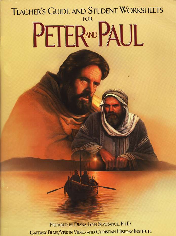 Peter and Paul Teachers Guide