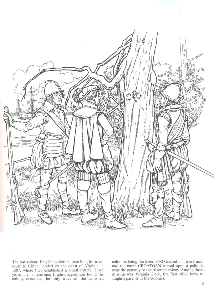 USA-Printables: Early American Life Coloring Pages - Early America ...   938x684