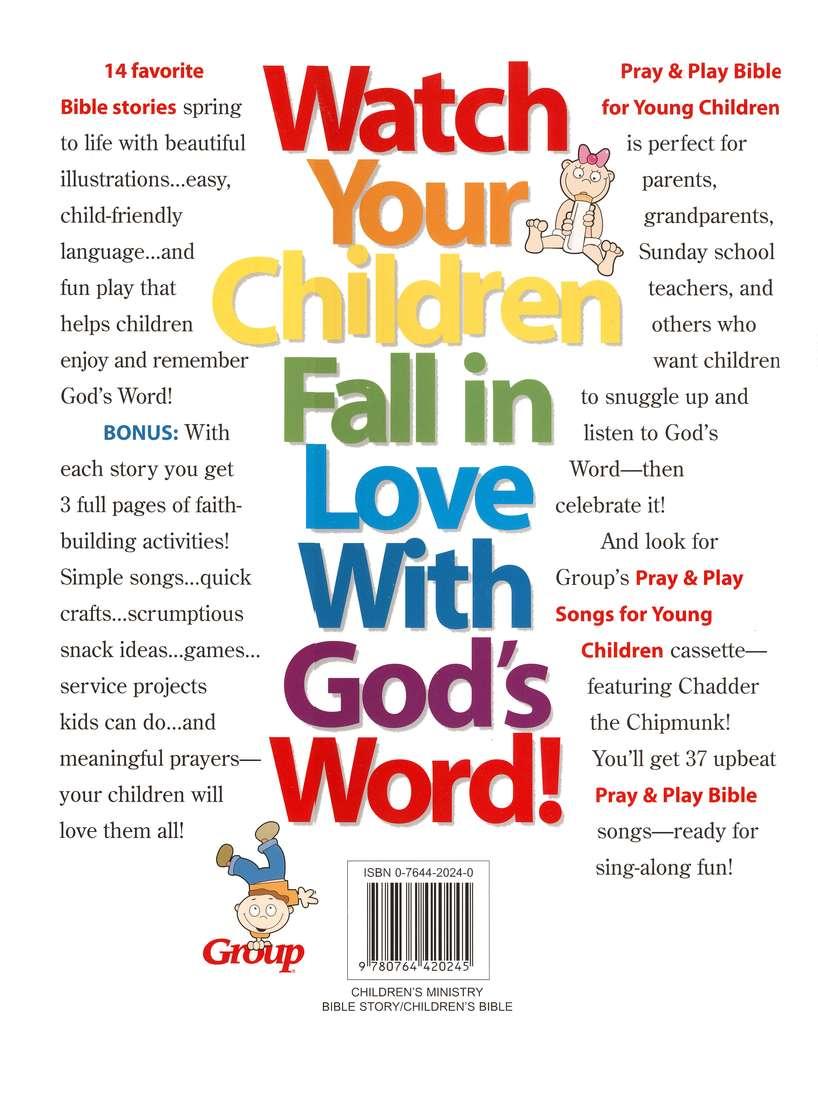 Pray Play Bible For Young Children Jody Brolsma 9780764420245