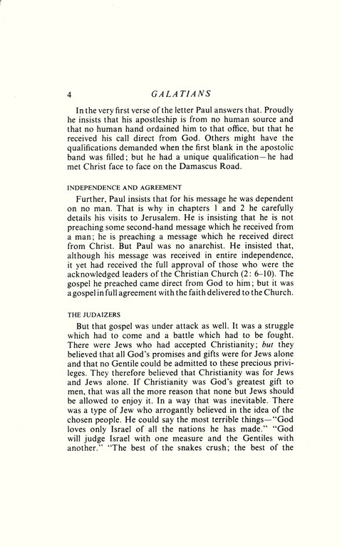 Letters to the Galatians & Ephesians: Daily Study Bible [DSB] (Hardcover)