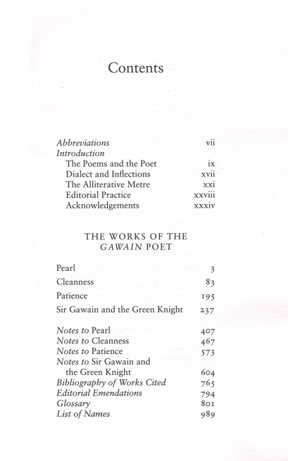 The Gawain Poet: Complete Works: Sir Gawain and the Green Knight, Patience, Cleanness, Pearl, Saint