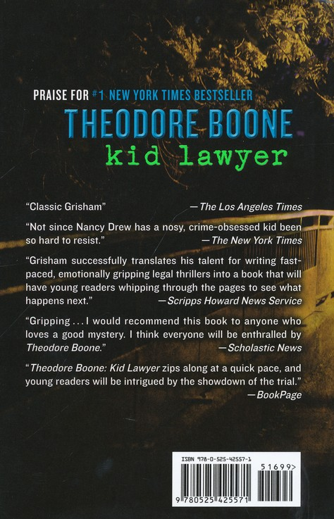 Theodore Boone: Kid Lawyer, The Abduction #2