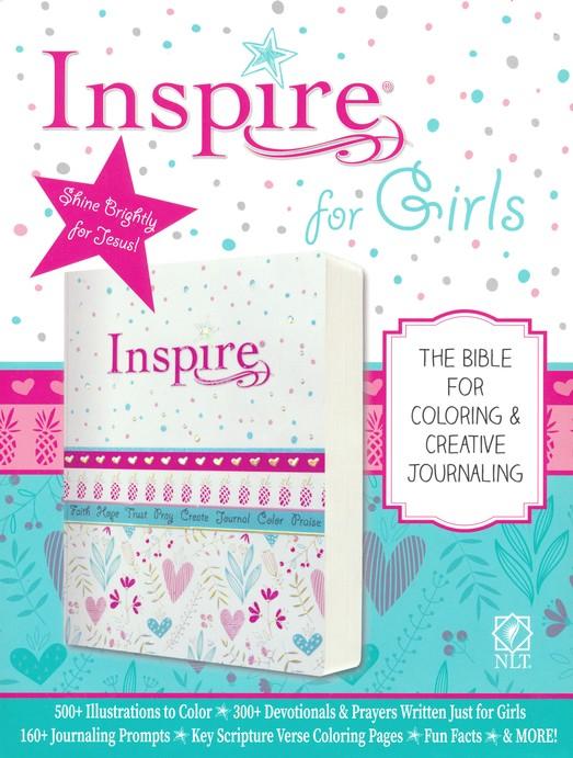 Nlt Inspire Bible For Girls Pink