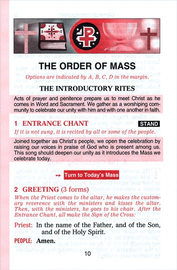 St. Joseph Sunday Missal: The Complete Masses for   Sundays, Holydays, and the Easter Triduum