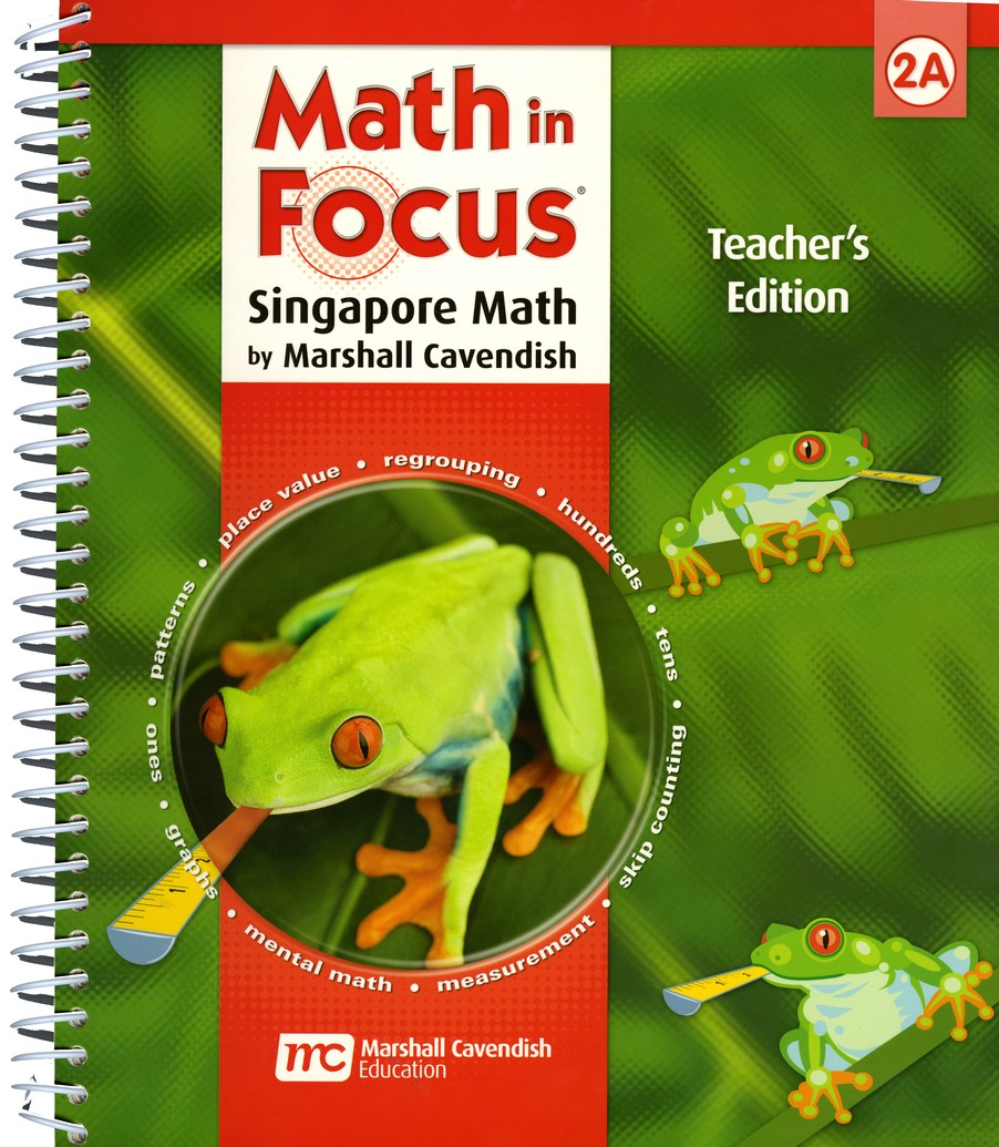 Math in Focus: The Singapore Approach Grade 2 First Semester Homeschool Package