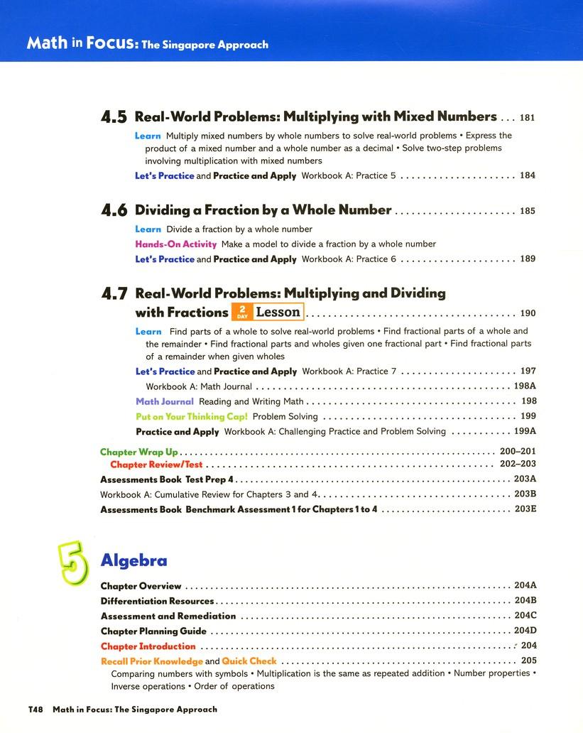 Math in Focus: The Singapore Approach Grade 5 First Semester Homeschool  Package: 9780547428833 - Christianbook.com