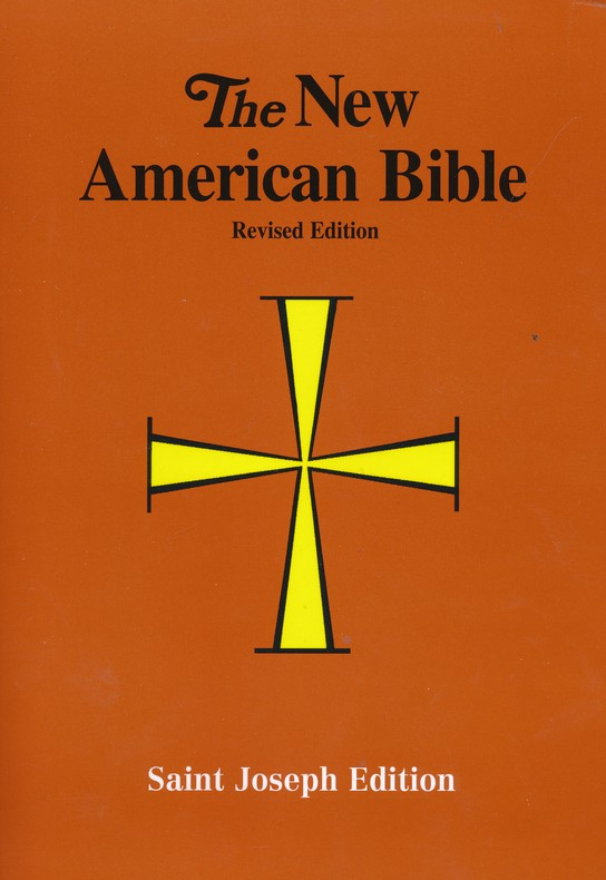The New American Bible, Saint Joseph Edition, 11-Point Type