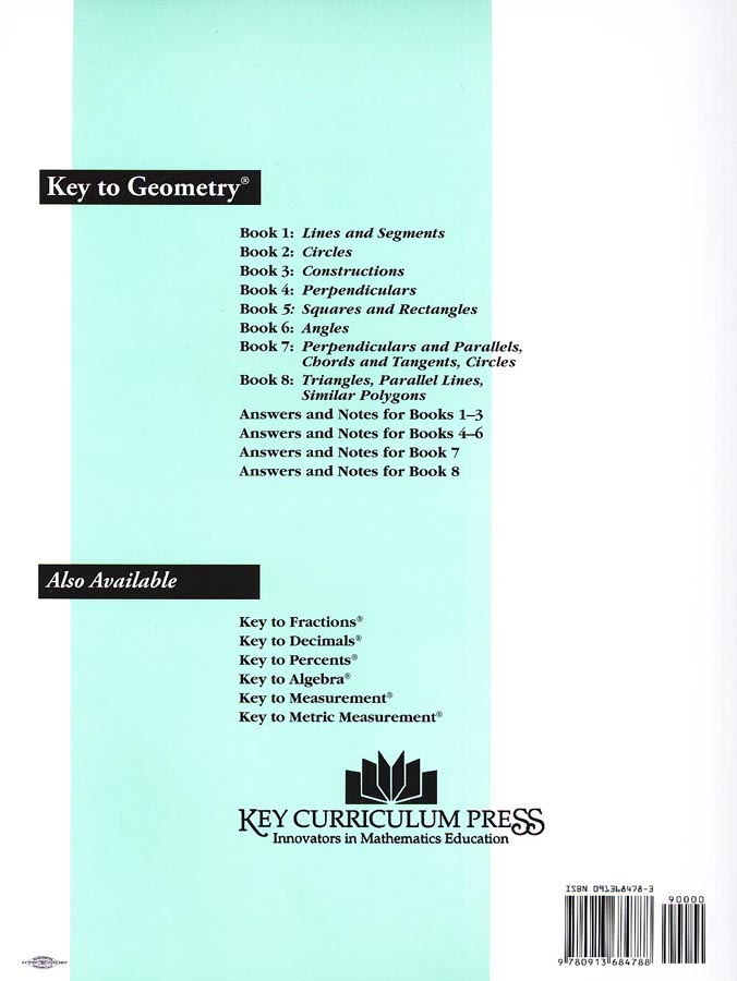 Key To Geometry Books 1-8
