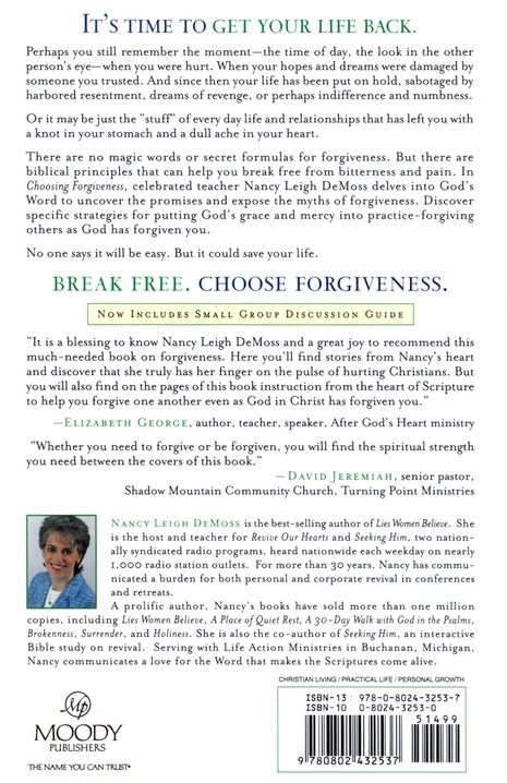 Choosing Forgiveness: Your Journey to Freedom