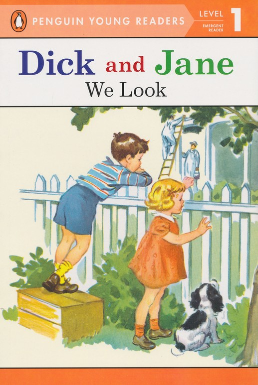 Read with Dick and Jane: We Look, Volume 1, Updated Cover