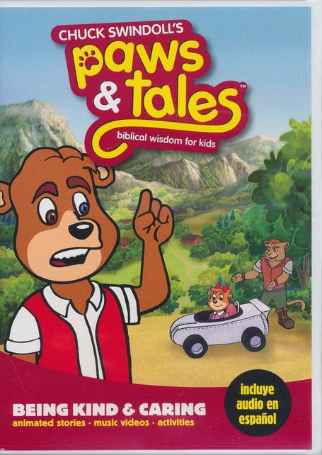 Chuck Swindoll's Paws & Tales Biblical Wisdom for Kids: # 8 Being Kind and Caring, DVD