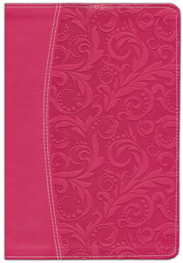 NIV Life Application Study Bible, Imitation Leather, Honeysuckle Pink