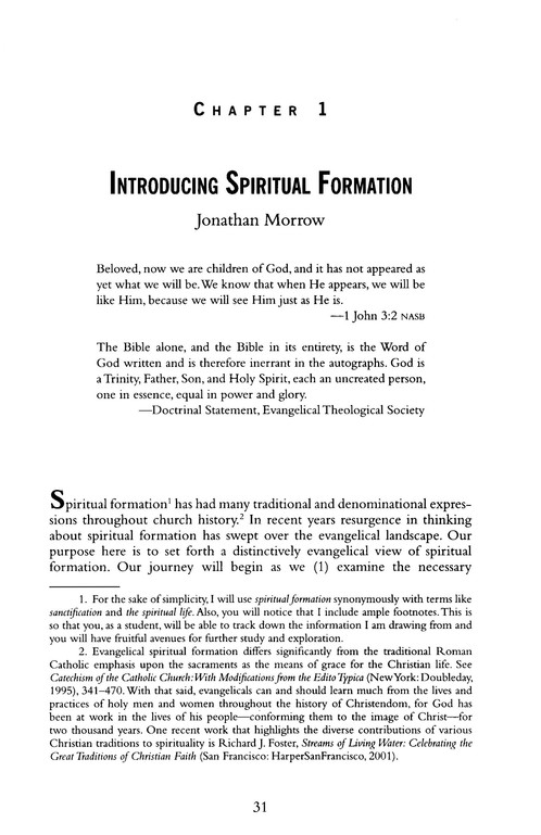 Foundations of Spiritual Formation: A Community Approach to Becoming Like Jesus