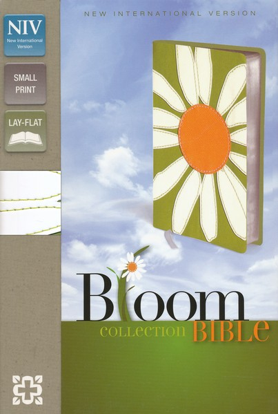 NIV Compact Thinline Bible, Bloom Collection, Daisy Duo-Tone