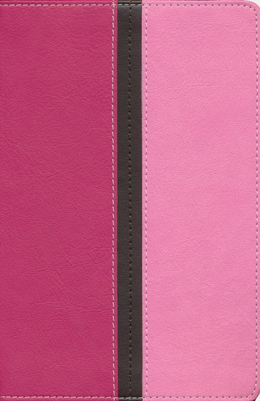 NIV Compact Thinline Bible, Hot Pink/Bubble Gum Duo-Tone, Limited Edition