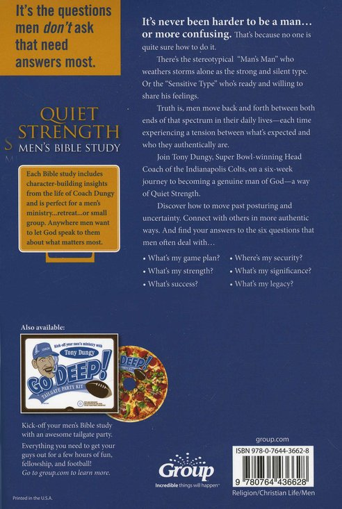 Quiet Strength Men's Bible Study