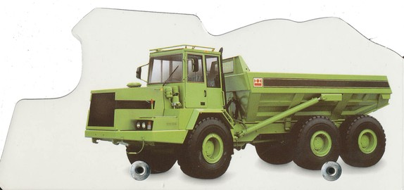 Wheelie Board Books: Dump Truck
