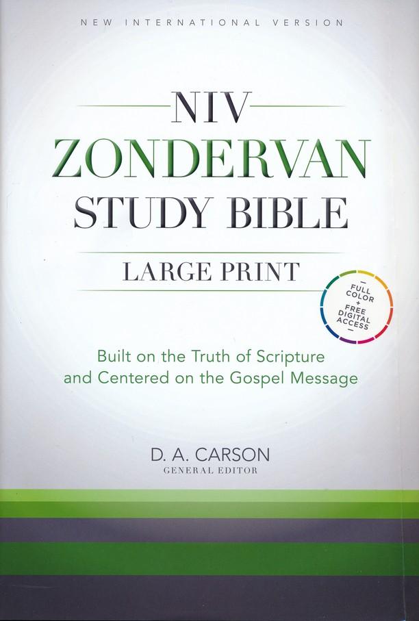 NIV Zondervan Study Bible, Large-Print