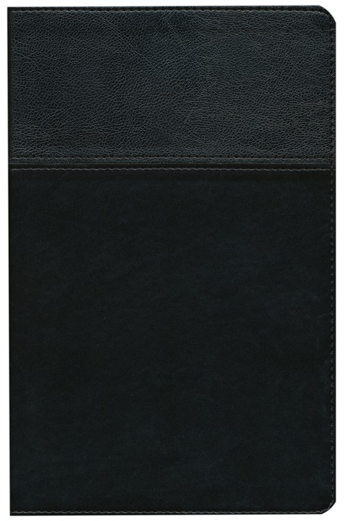 NIV Thinline Bible, Duo-Tone, Black
