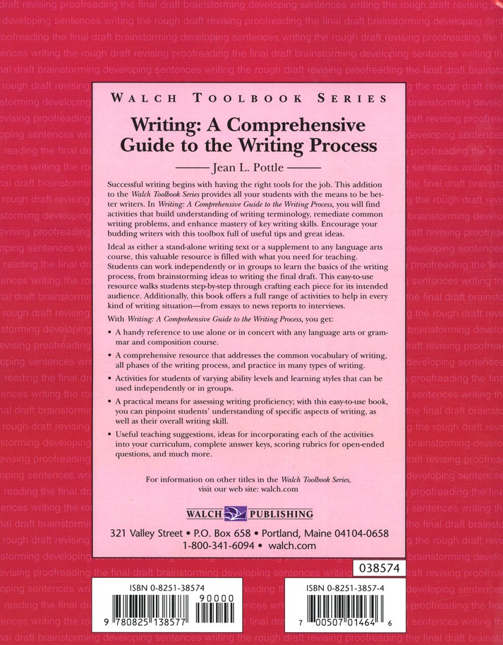 Writing: A Comprehensive Guide to the Writing Process