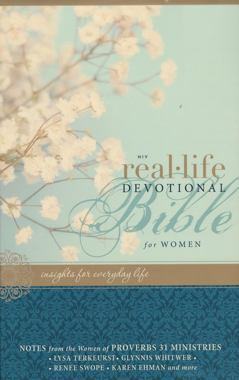 NIV Real-Life Devotional Bible for Women: Insights for Everyday Life, Hardcover, Jacketed Printed
