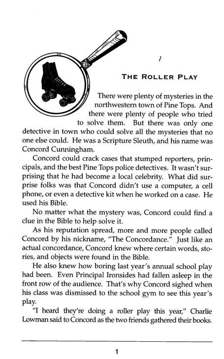 Concord Cunningham on the Case: The Scripture Sleuth #3