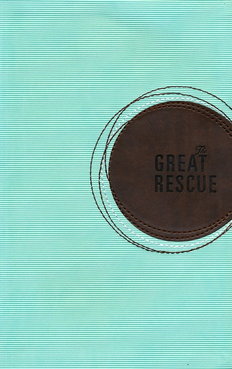 The Great Rescue (NIV): Discover Your Part in God's Plan: Revised Edition, Italian Duo-Tone, Light Blue and Brown