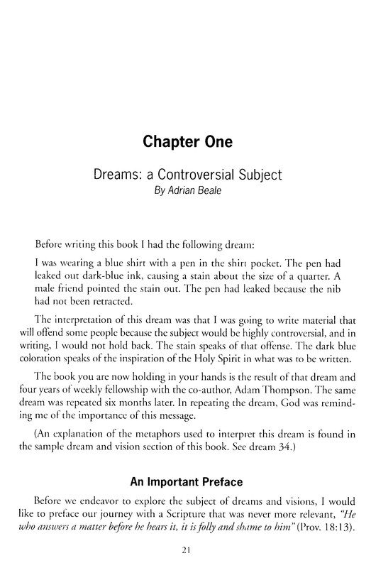 The Divinity Code To Understanding Your Dreams And Visions Adam