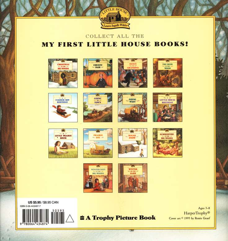 Christmas in the Big Woods,  My First Little House Books