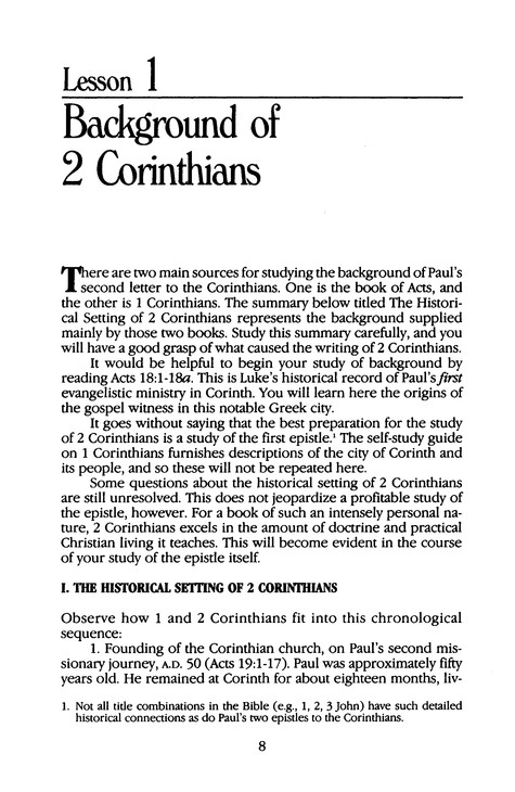 2 Corinthians: Jensen Bible Self-Study Guide Series