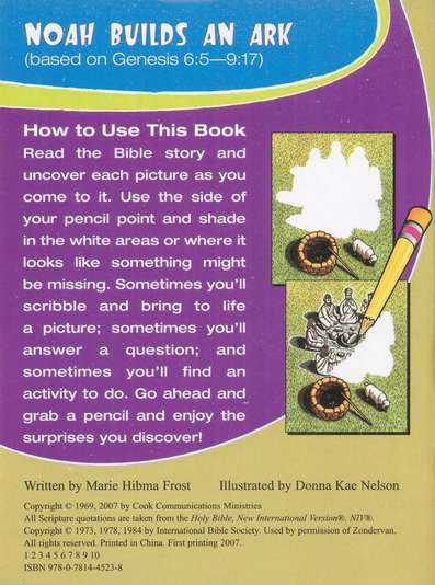 Noah Builds an Ark: Pencil Fun Book, 10 pack