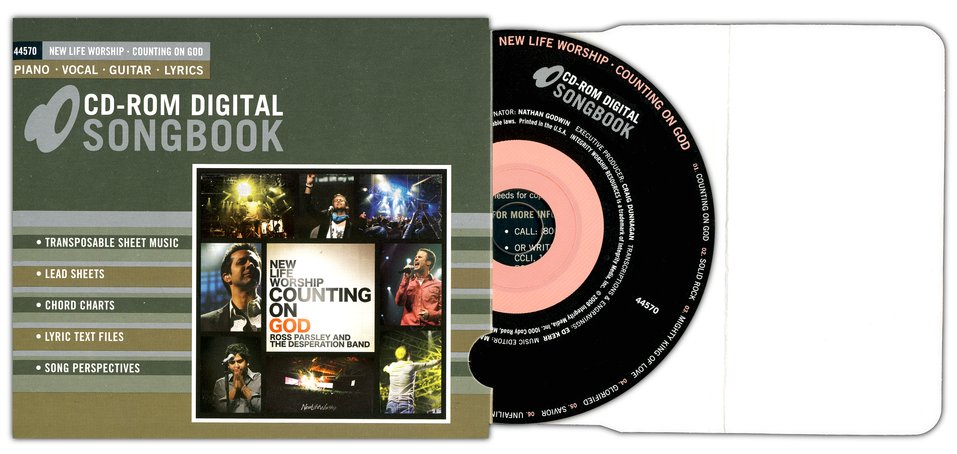 Counting On God (CD-ROM Digital Songbook)