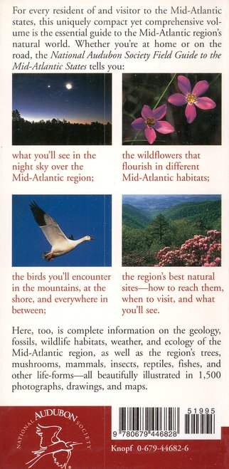 National Audubon Society Field Guide to the Mid-Atlantic States