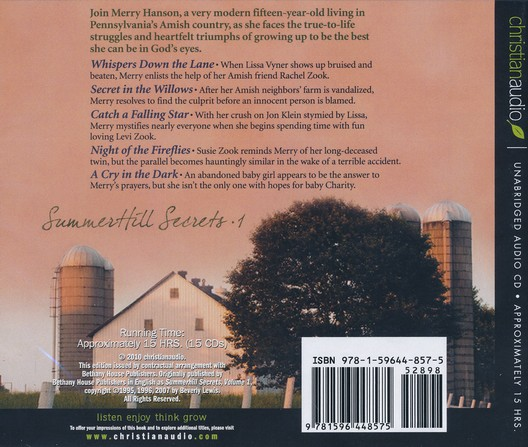 Summerhill Secrets: Volume 1, unabridged audiobook on CD