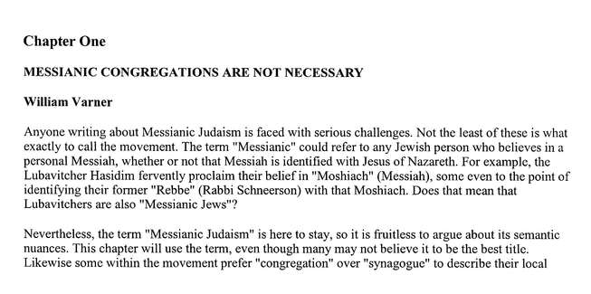 Two Views on the Messianic Movement: How Jewish Is Christianity?