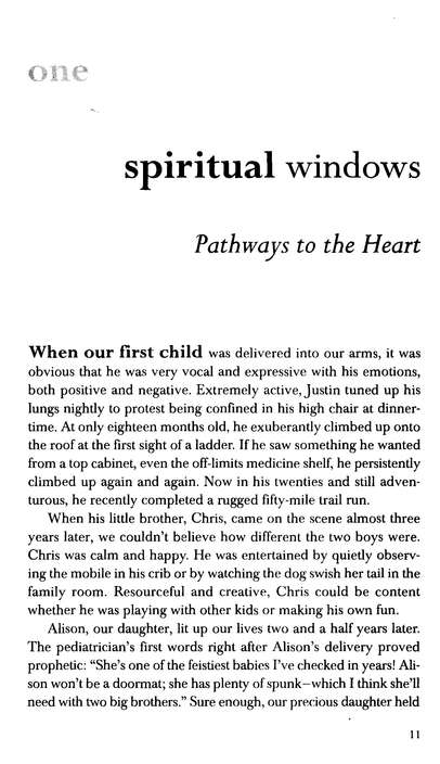Opening Your Child's Spiritual Windows: How to Nurture a Lifetime Relationship with God