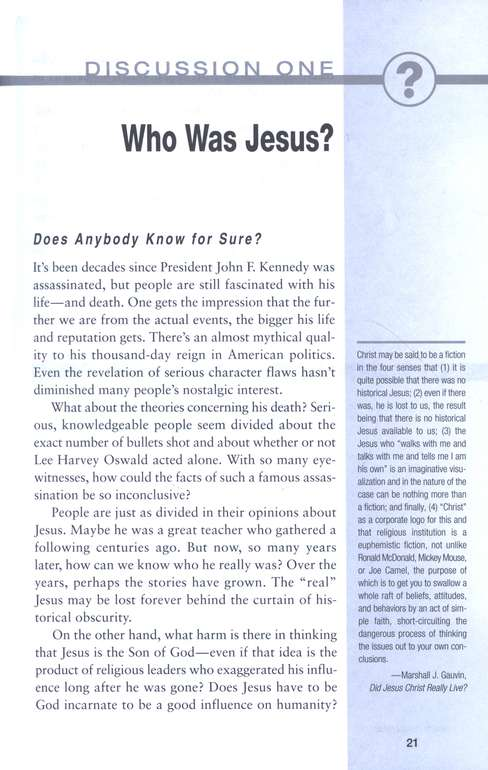 What Difference Does Jesus Make? Tough Questions, Revised Edition