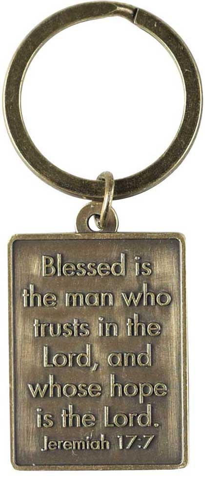 Man of God Keyring