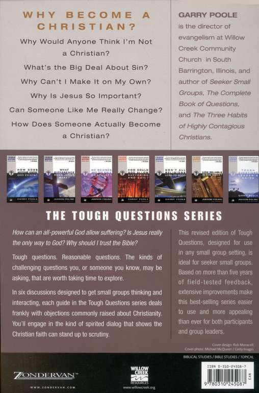 Why Become a Christian? Tough Questions, Revised Edition