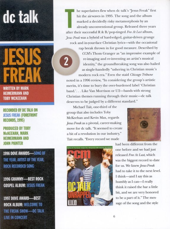 CCM Top 100 Greatest Songs in Christian Music