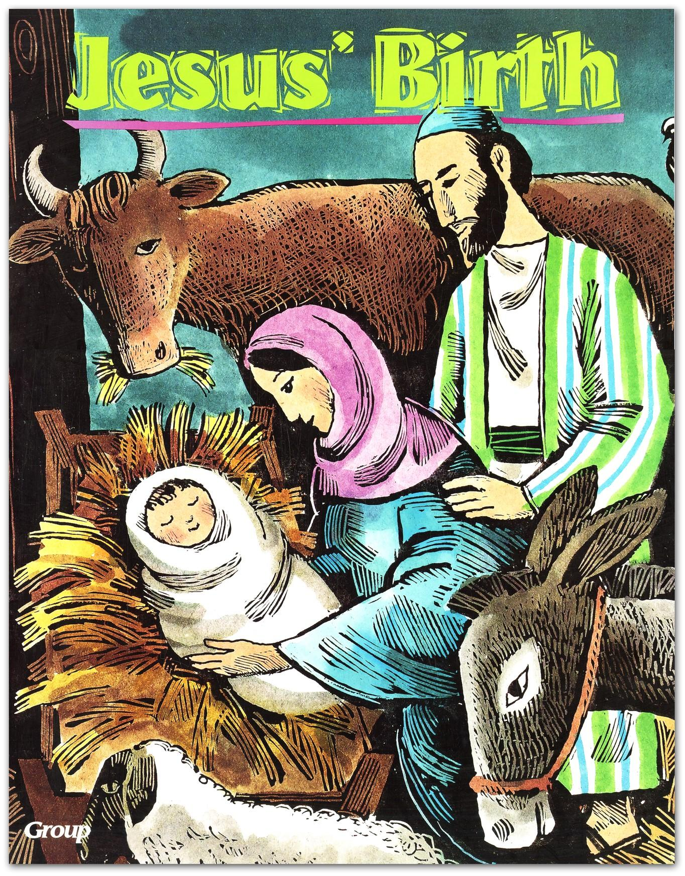 HOBC Bible Big Book: Jesus' Birth