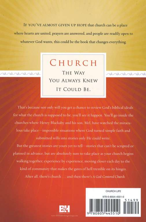 A God-Centered Church: Experiencing God Together