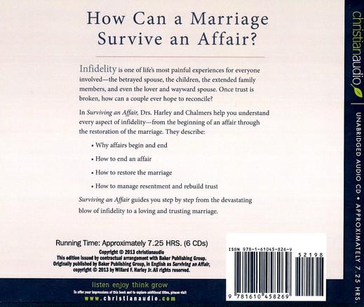 How can a marriage survive an affair