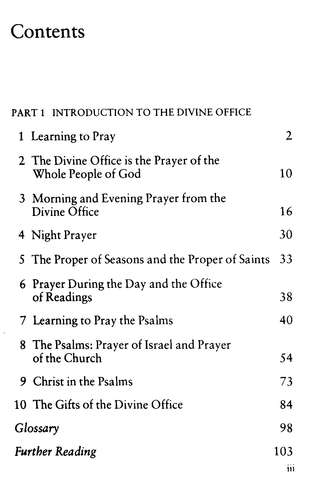 School of Prayer: An Introduction to the Divine Office  for All Christians