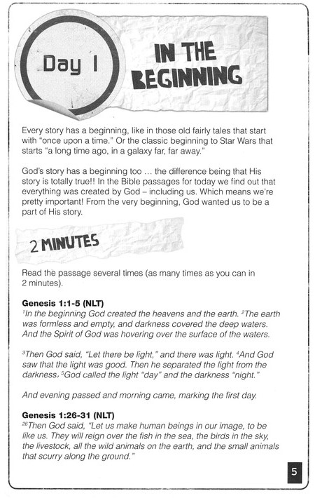10-Minute Moments: God's Story - Growing in Your Faith Ten   Minutes at a Time