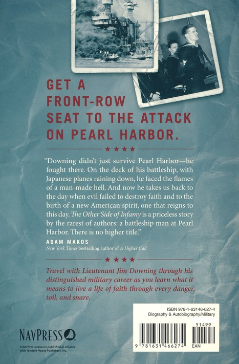 The other side of infamy my journey through pearl harbor and the the other side of infamy my journey through pearl harbor and the world of war jim downing james lund 9781631466274 christianbook fandeluxe Gallery